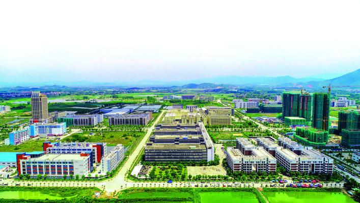 东江科技园环境优美。